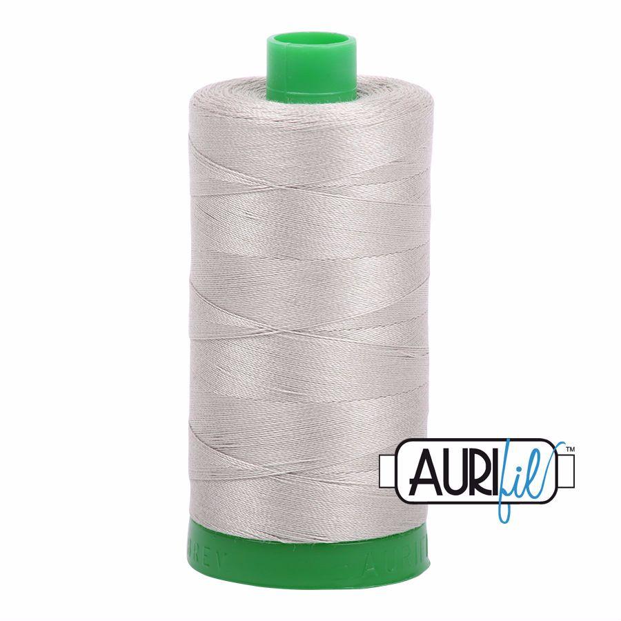 Aurifil Cotton 40wt, 5021 Light Grey