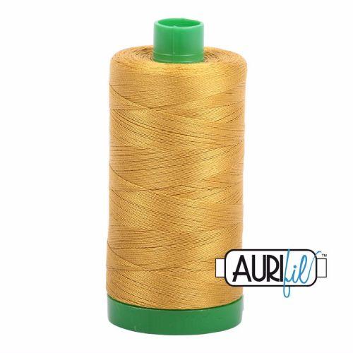 Aurifil Cotton 40wt, 5022 Mustard