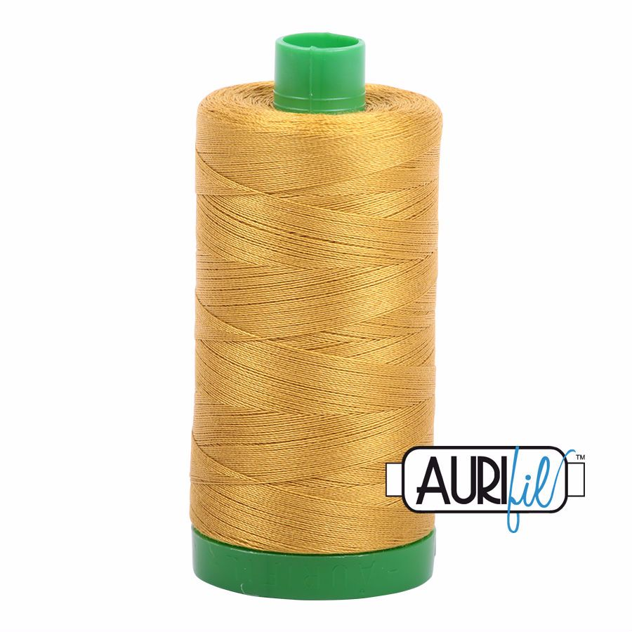 Aurifil Cotton 40wt, 5022 Mustard