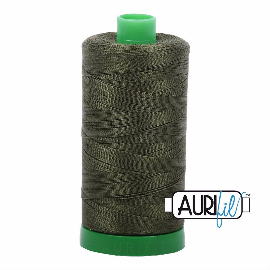 Aurifil Cotton 40wt, 5023 Medium Green