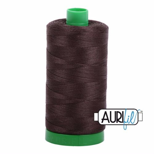 Aurifil Cotton 40wt, 5024 Dark Brown