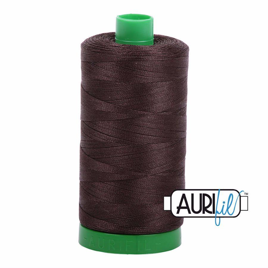 Aurifil Cotton 40wt, 5024 Dark Brown