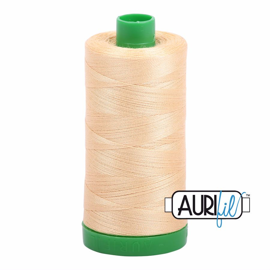 Aurifil Cotton 40wt, 6001 Light Caramel