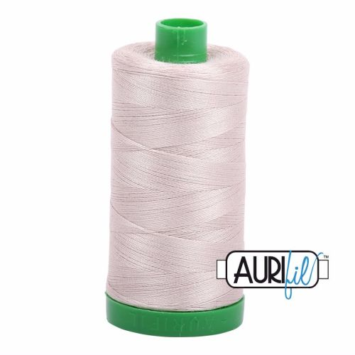 Aurifil Cotton 40wt, 6711 Pewter