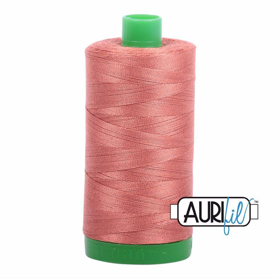 Aurifil Cotton 40wt, 6728 Cinnabar