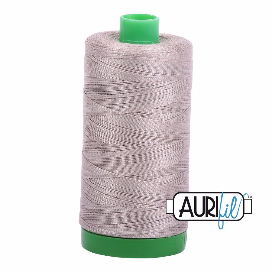Aurifil Cotton 40wt, 6730 Steampunk