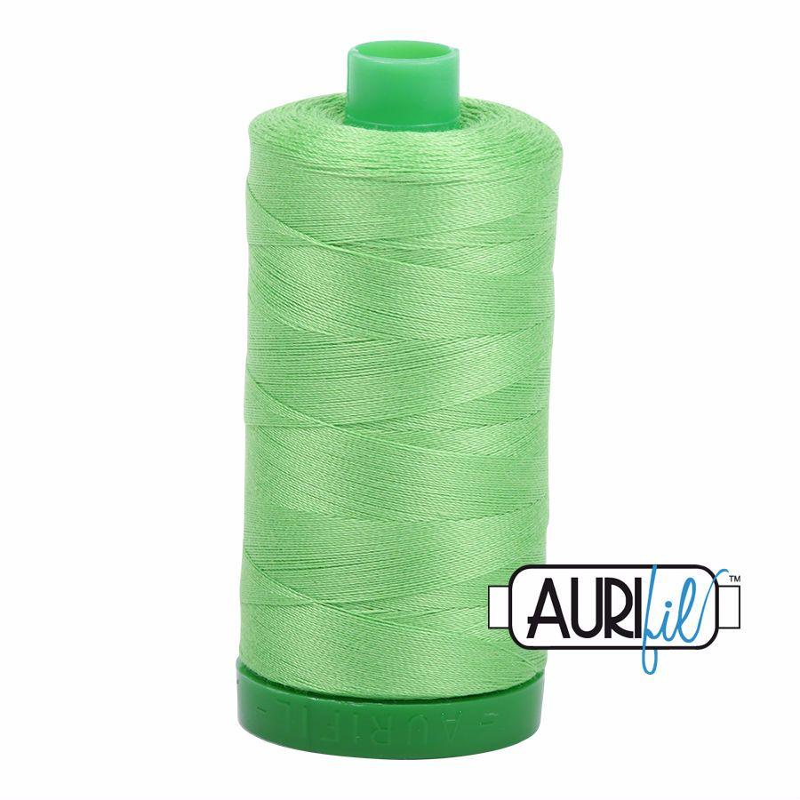Aurifil Cotton 40wt, 6737 Shamrock Green