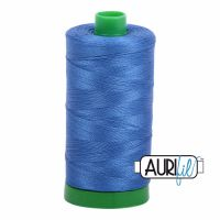 Aurifil Cotton 40wt, 6738 Peacock Blue