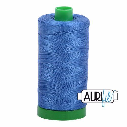 Aurifil Cotton 40wt, 6738 Peacock Blue