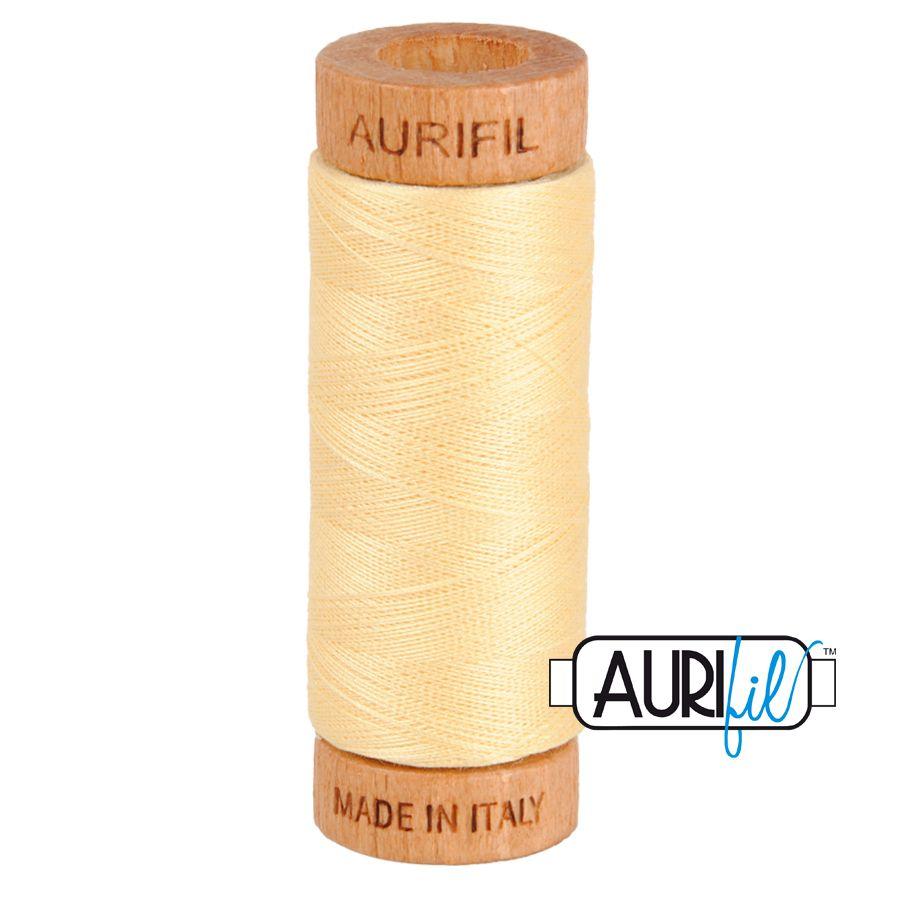 Aurifil Cotton 80wt, 2105 Champagne