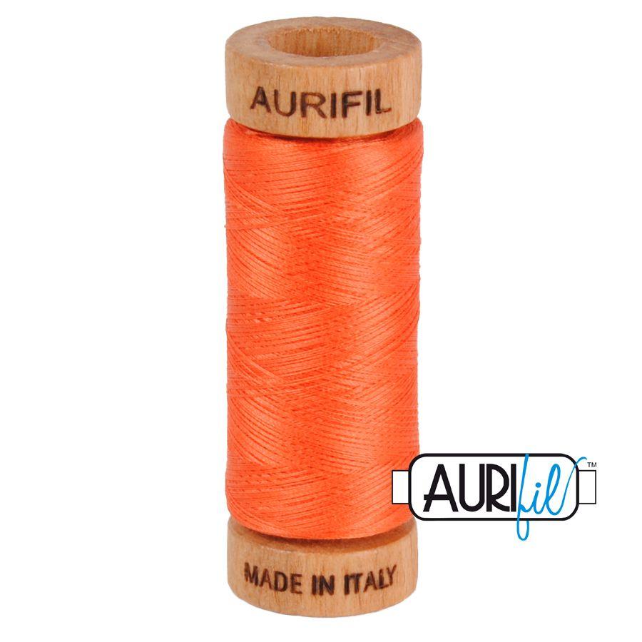 Aurifil Cotton 80wt, 1154 Dusty Orange