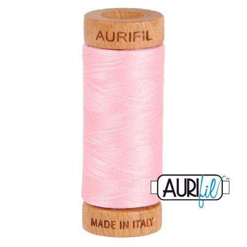 Aurifil Cotton 80wt, 2423 Baby Pink