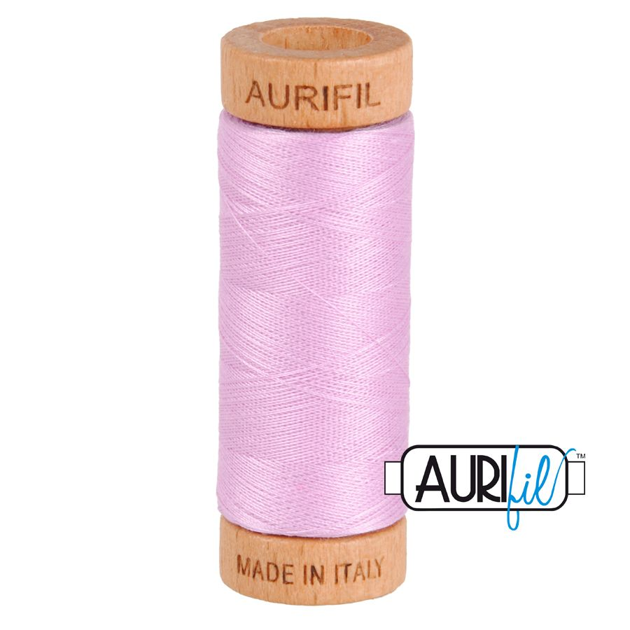 Aurifil Cotton 80wt, 2515 Light Orchid