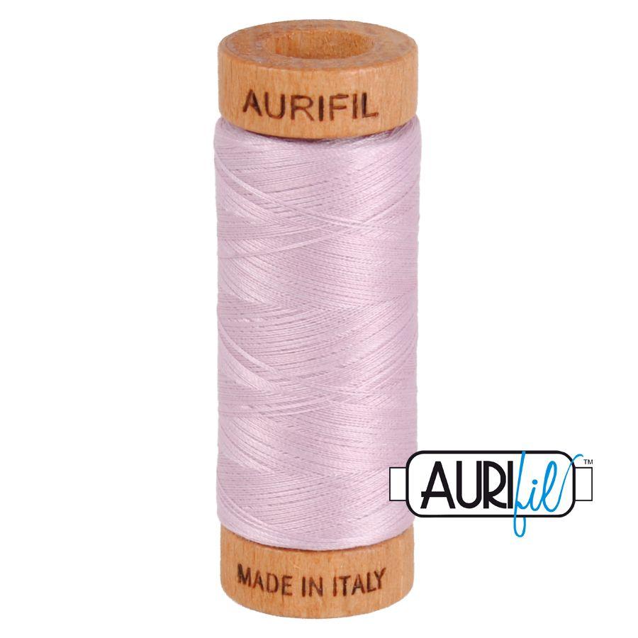 Aurifil Cotton 80wt, 2510 Light Lilac