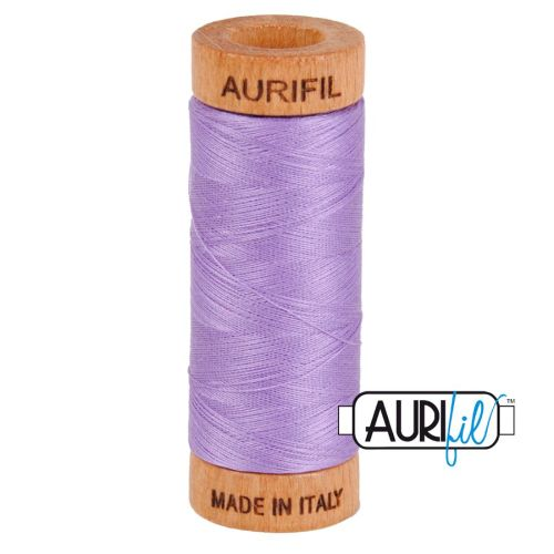 Aurifil Cotton 80wt, 2520 Violet