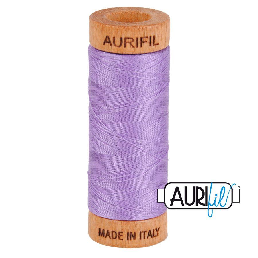 Aurifil Cotton 80wt, 2520 Violet