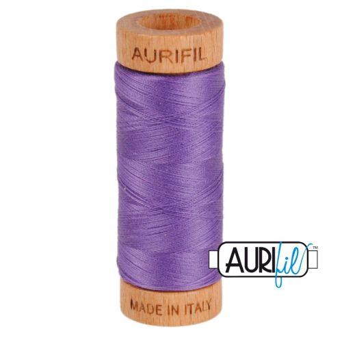 Aurifil Cotton 80wt, 1243 Dusty Lavender