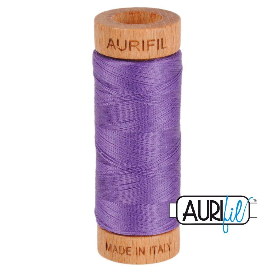 Aurifil Cotton 80wt, 1243 Dusty Lavender