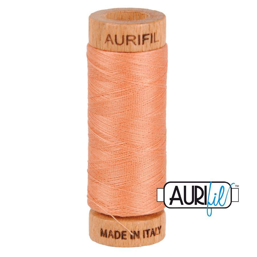Aurifil Cotton 80wt, 2215 Peach