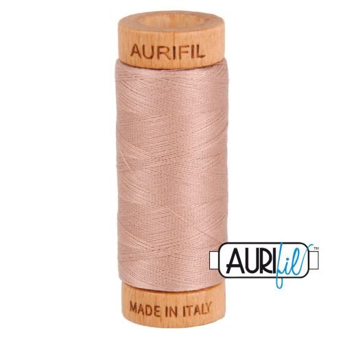 Aurifil Cotton 80wt, 2375 Antique Blush