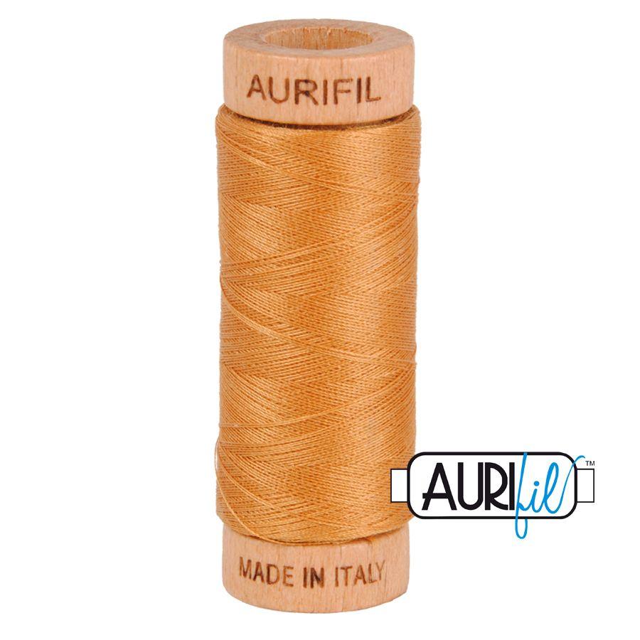 Aurifil Cotton 80wt, 2930 Golden Toast
