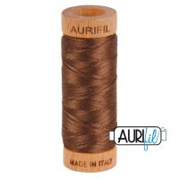 Aurifil Cotton 80wt, 1285 Medium Bark