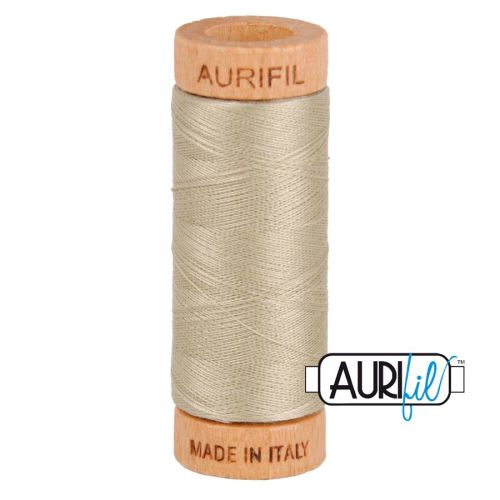 Aurifil Cotton 80wt, 2324 Stone