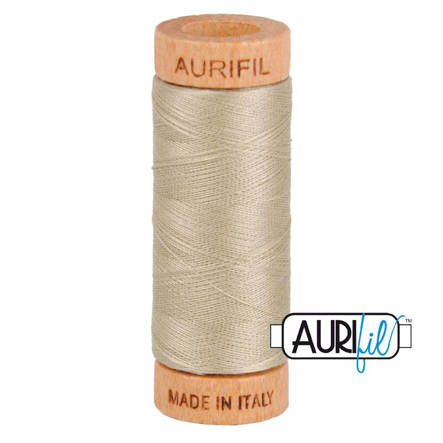 Aurifil Cotton 80wt, 2324 Stone