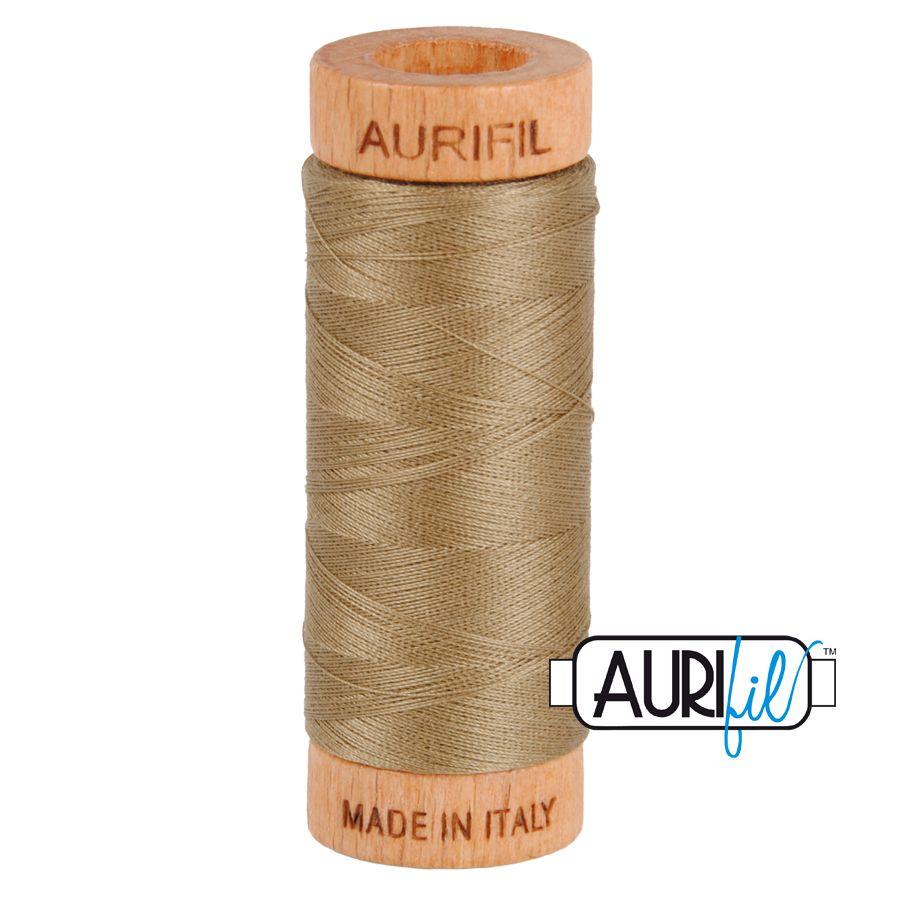 Aurifil Cotton 80wt, 2370 Sandstone