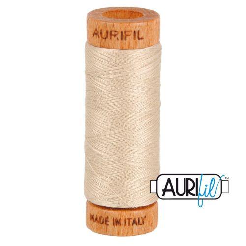 Aurifil Cotton 80wt, 2312 Ermine