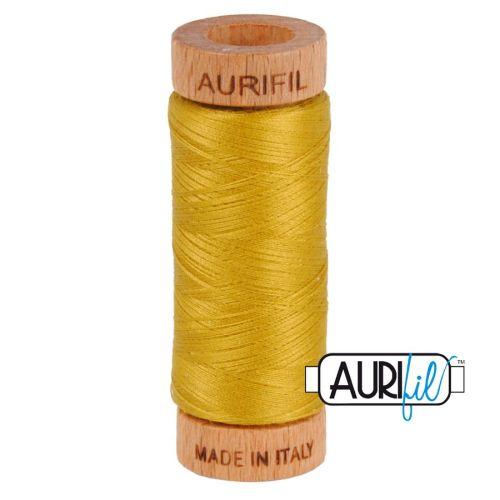Aurifil Cotton 80wt, 5022 Mustard