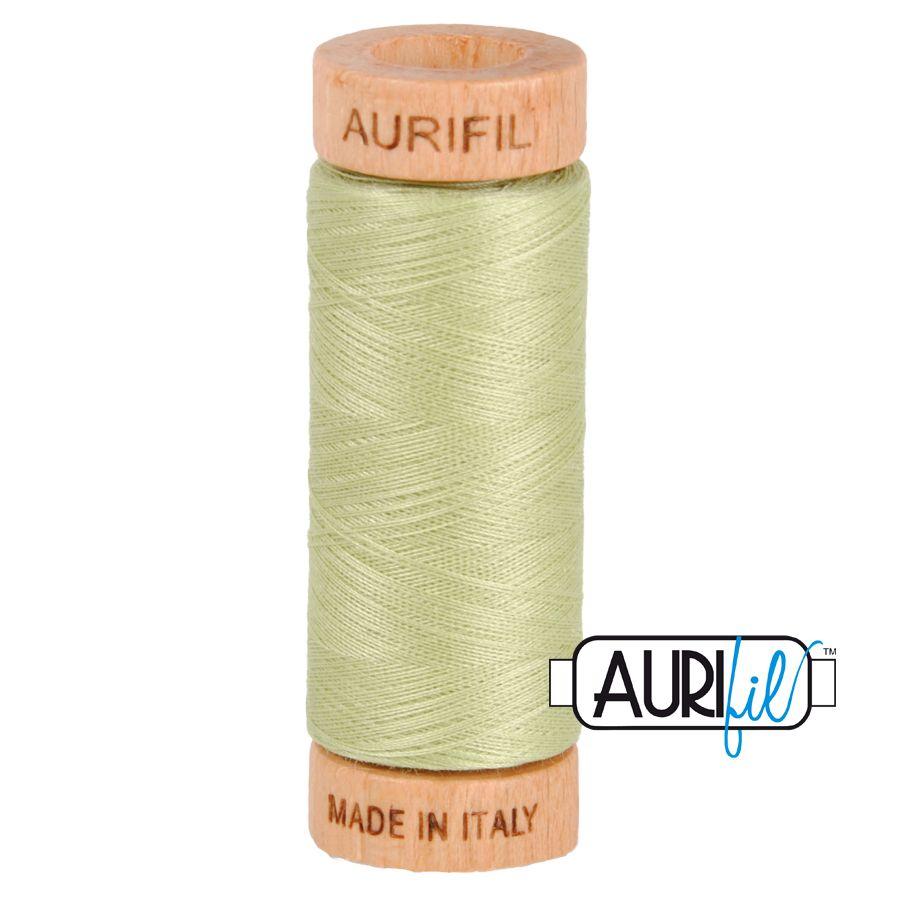 Aurifil Cotton 80wt, 2886 Light Avocado