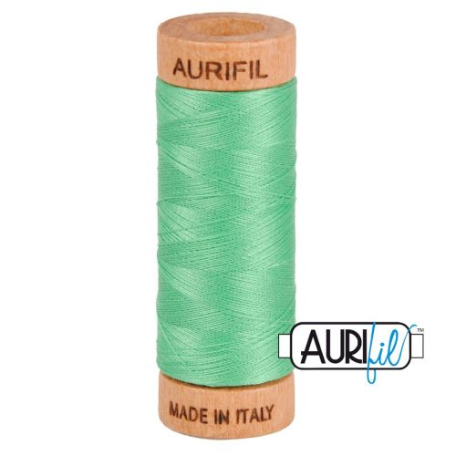 Aurifil Cotton 80wt, 2860 Light Emerald