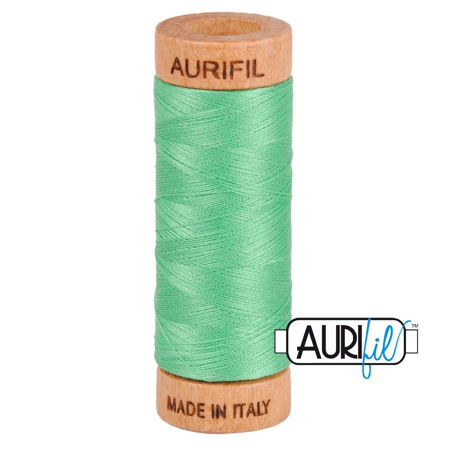 Aurifil Cotton 80wt, 2860 Light Emerald