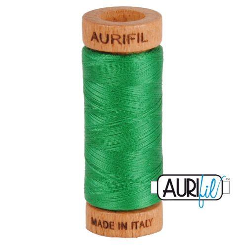 Aurifil Cotton 80wt, 2870 Green