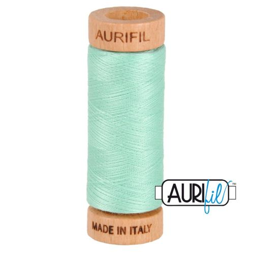 Aurifil Cotton 80wt, 2835 Medium Mint