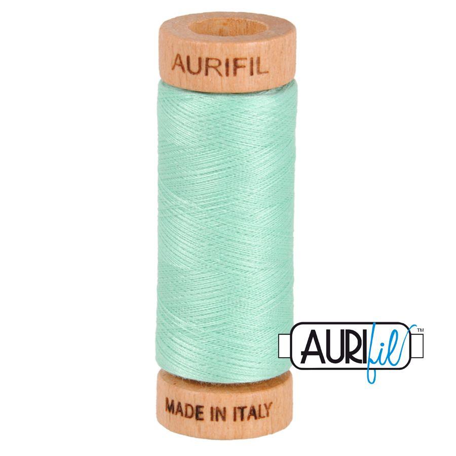 Aurifil Cotton 80wt, 2835 Medium Mint