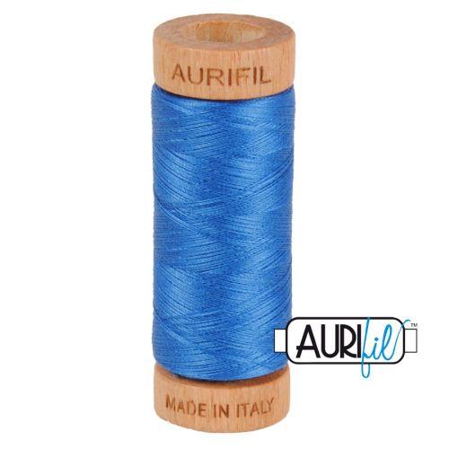 Aurifil Cotton 80wt, 2730 Delft Blue