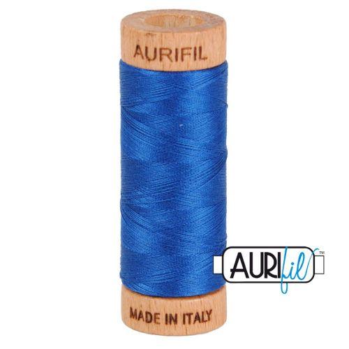 Aurifil Cotton 80wt, 2740 Dark Cobalt