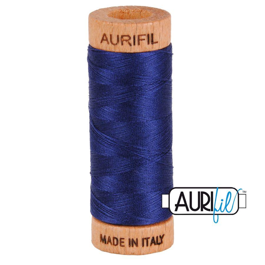 Aurifil Cotton 80wt, 2745 Midnight