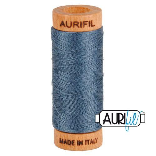 Aurifil Cotton 80wt, 1158 Medium Grey