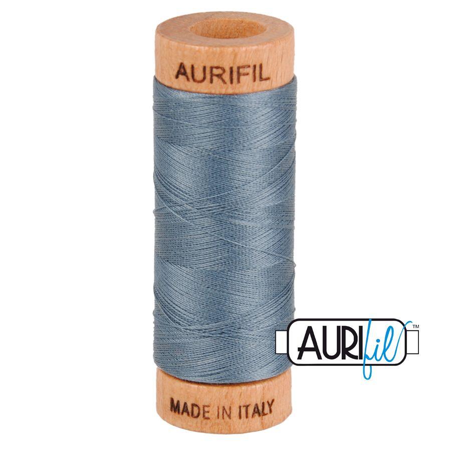 Aurifil Cotton 80wt, 1246 Dark Grey