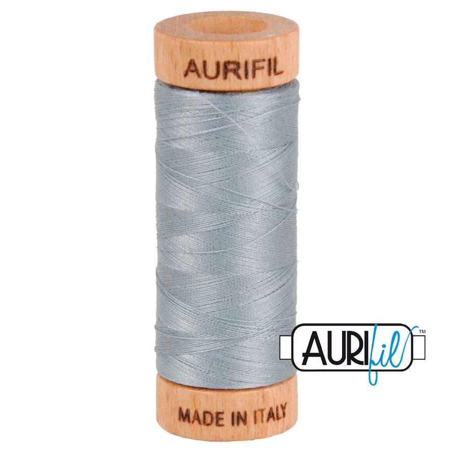 Aurifil Cotton 80wt, 2610 Light Blue Grey