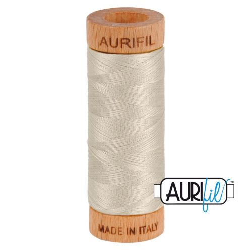 Aurifil Cotton 80wt, 6725 Moondust