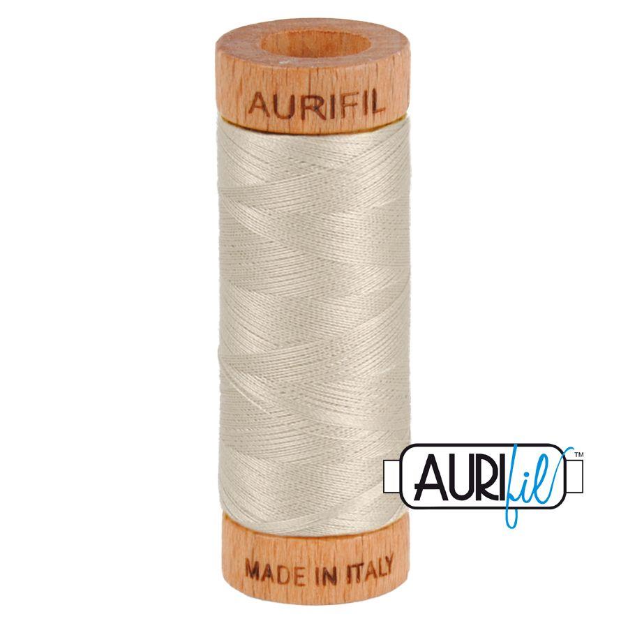 Aurifil Cotton 80wt, 6725 Moondust