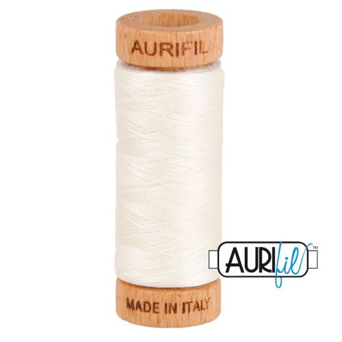 Aurifil Cotton 80wt, 6722 Sea Biscuit