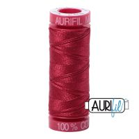 Aurifil Cotton 12wt, 1103 Burgundy