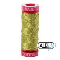 Aurifil Cotton 12wt, 1147 Light Leaf Green