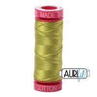 Aurifil Cotton 12wt, 1147 Light Leaf Green