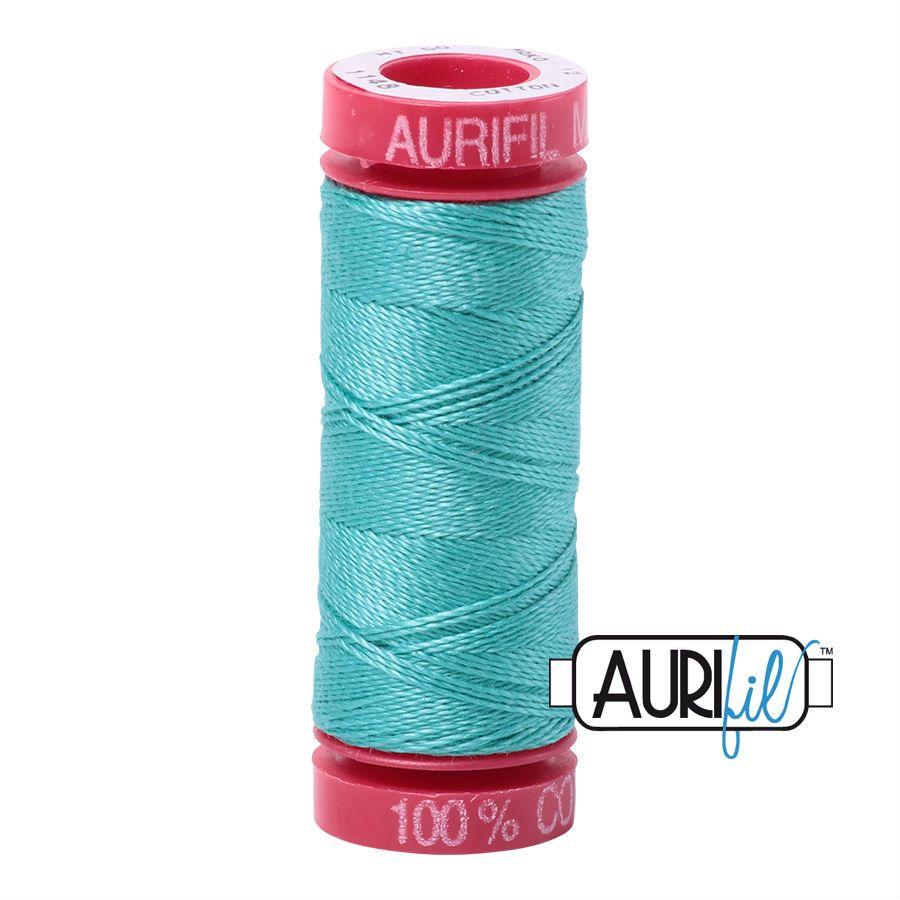 Aurifil Cotton 12wt, 1148 Light Jade
